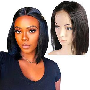 hot selling  short bob wigs 150 180 200 density brazilian straight remy hair natural