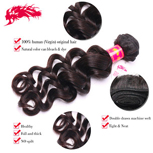 hot sale wholesale bundles natural wave hair extensions 100 percent human hair weave