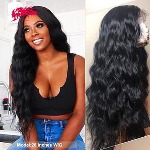 brazilian loose wave 4x4 5x5 lace closure wig natural black remy virgin human hair wig