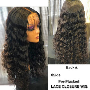 full density brazilian hair wigs natural wave preplucked 13x4 swiss lace frontal wig remy virgin human hair wig