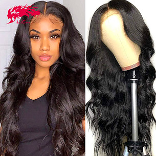 13x4 lace front human hair wigs body wave lace front wigs for women human hair lace frontal wig