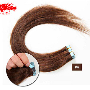 tape in hair color 4 straight hair human hair extension color hair